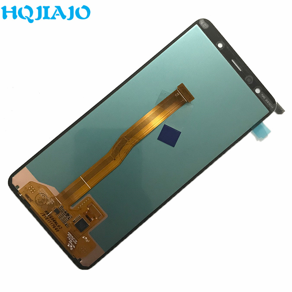 Image 4 - 6.0'' Test For Samsung A750 LCD Display Touch Screen Digitizer For Samsung Galaxy A7 2018 A750 A750F SM A750F A750FN Original-in Mobile Phone LCD Screens from Cellphones & Telecommunications