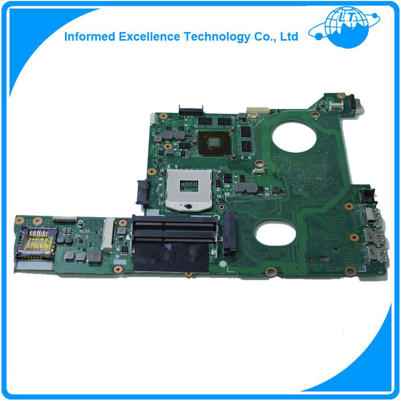 Original for ASUS N46VZ GT650M 2GB motherboard DDR3 Non-integrated fully test ok before shipping asus g31 motherboard g31tlm g31tlm2 fully integrated g31tm v1 0 lot