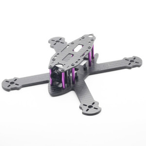 Image 1 - HSKRC TWE210 210mm Wheelbase 4mm Arm 3K Carbon Fiber X Type FPV Racing Frame Kit  for RC Drone FPV Racing Kit