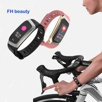 Smart Bracelet Blood Pressure Heart Rate Monitor Wristband Sleep Fitness Tracker Pedometer Sport Smart Band Sedentary reminder