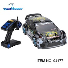 HSP 1/10 Nitro On Road Sport Rally Racing 4WD RC Car KUTIGER Body with 2.4Ghz 2CH Transmitter (item no. 94177)