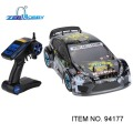 HSP 1/10 Nitro On Road Sport Rally Racing 4WD RC Car KUTIGER Cuerpo con 2.4 Ghz Transmisor de 2CH (artículo n ° 94177)