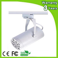 (10PCS/Lot) Epistar Chip 3 Years Warranty CE RoHS 12W LED Track Light Spot Bulb Spotlight Rail