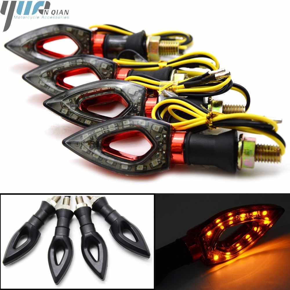 לסוזוקי GSXR600 GSXR750 GSXR 1000 K3 K4 K5 K6 K7 K8 K9 K11 GSXR1300 HAYABUSA האוניברסלי Moto LED אורות הפעל אות אור
