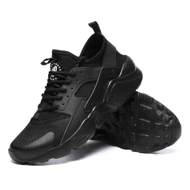 Кроссовки мужские дышащая мужская обувь повседневная обувь удобные сетчатые кроссовки Летние слипоны уличные мужские спортивные туфли 2019New