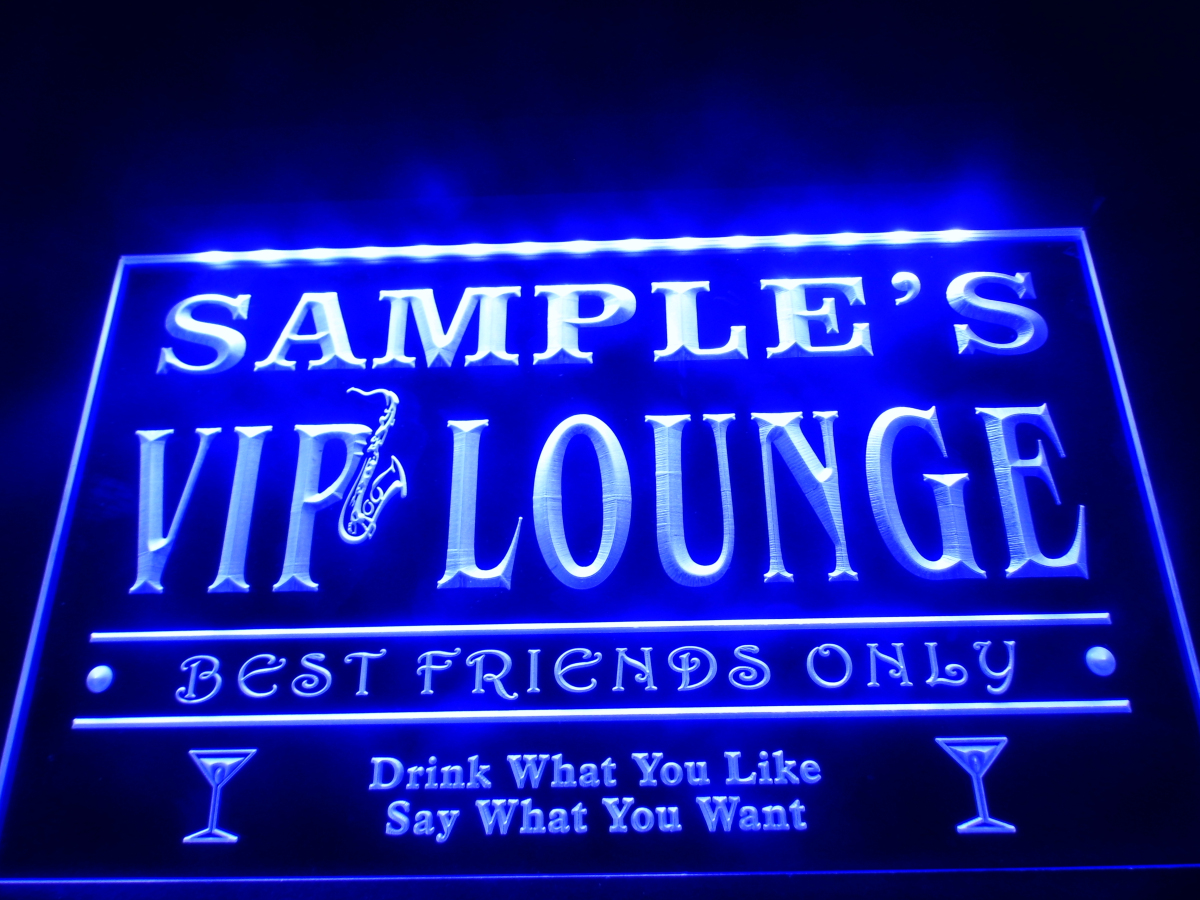 Dz039 name personalized custom vip lounge best friends for Best craft light reviews