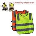 De alta qualidade para crianças vestuário de protecção / crianças colete de segurança / segurança de alta visibilidade vestuário / colete de segurança laranja frete grátis