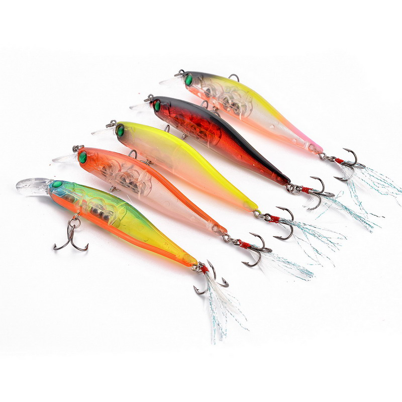 Lot 10pcs cheap fishing lures isca artificial para pesca for Cheap fishing spinners