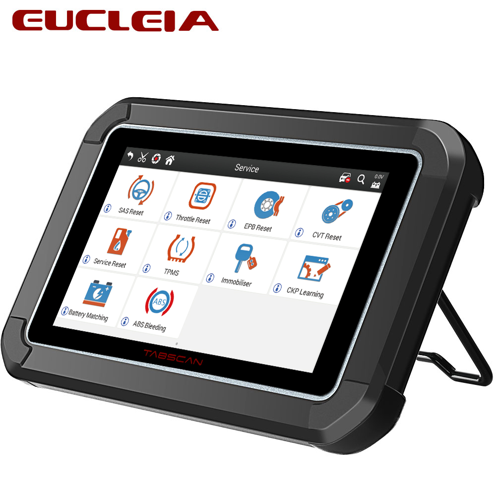 Automotive Scan Tool >> Us 321 3 37 Off Eucleia S7c Obd2 Automotive Scanner Diagnostic Tool Support Engine Abs Airbag Transmission Epb For All Electric Control Systems In
