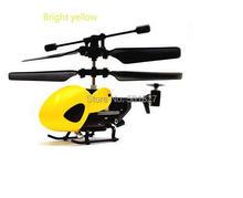 YUKALA terkecil Mini QS5010 9.8 cm 3.5 saluran inframerah RC helikopter dengan Gyro rc helicopter RTF siap untuk terbang
