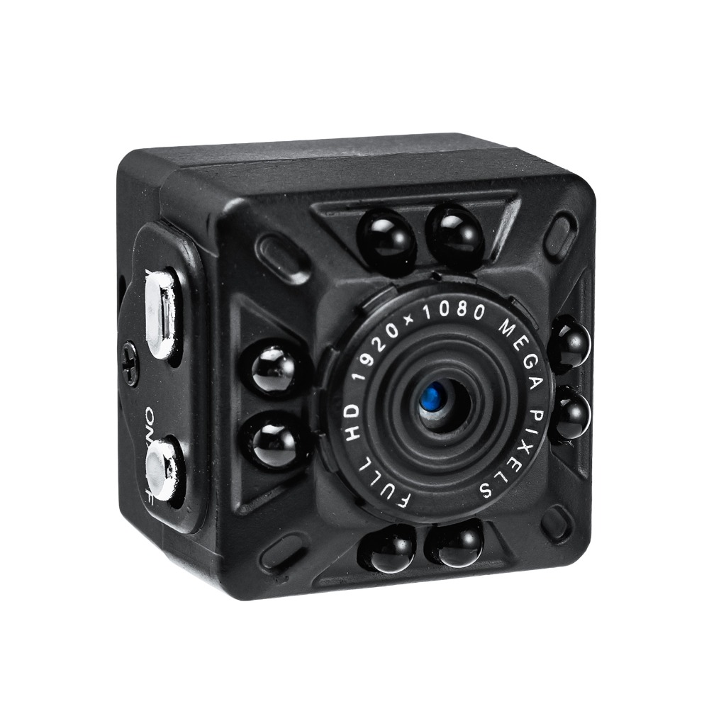 FUERS SQ10 1080 p Volle HD Kamera Tragbare Handheld Mini Kamera PIR Nachtsicht Detektor Recorder Video Audio Smart Nette monitor