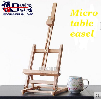 40cm Mini Artist wooden table Folding Painting Easel Frame Adjustable Tripod Display Shelf Outdoors Studio Display Frame