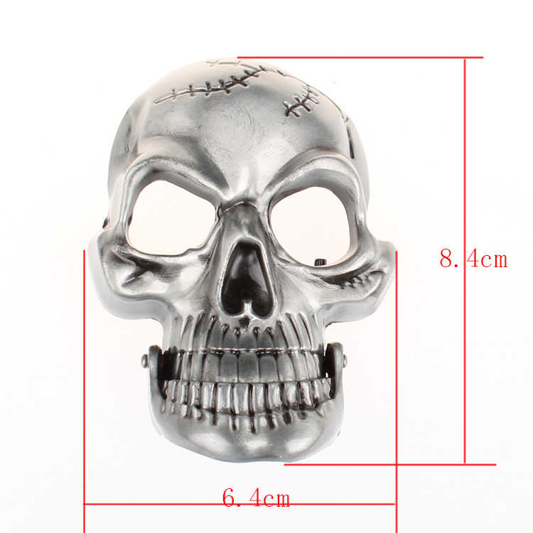 Abartı erkek kemeri büyük kafatası kemer metal toka kafatası kemerleri İskelet erkekler punk rock kemer performansı kalça hop kuşak