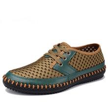 Men Sandals Nice New Arrive Men Casual Sandals Super Breathable Skynet Lightweight Summer Shoes Mesh Men Casual Shoe Big Size