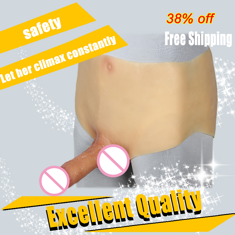 EYUNG Realistic strapon dildo for lesbian Texture huge fake dick Anal sex for LGBT Wearable Penis with pants female style dildos howosex strap on big dildos with pants realistic silicone soft dildo harness strapons anal penis for lesbian sex toy for couple