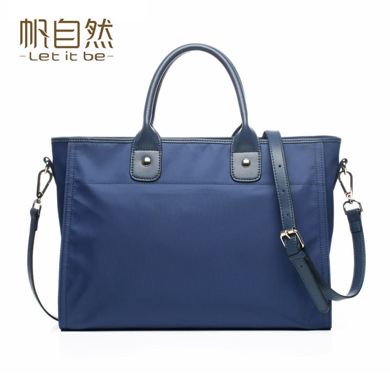 ФОТО 2016 women handbag oxford nylon tote women bag waterproof brand let it be designer crossbody bag
