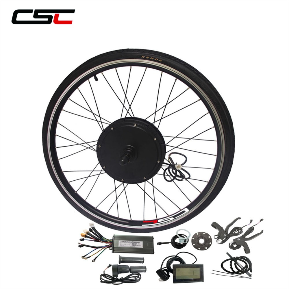 48V Front Bicycle Motor Wheel Conversion Kit 1000W 500W for 20 24 26 28 29in 700C