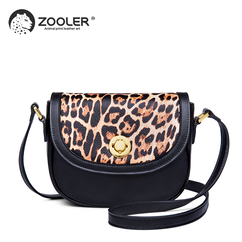 2019 New Genuine Leather Shoulder Bag Women 39 s Luxury Handbags Fashion Crossbody bags for women Messenger Bag Female Purse TJH206 in Top Handle Bags from Luggage amp Bags