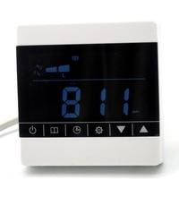 Pantalla táctil detector de CO2 sensor de gas voc 350ppm-1000ppm ventilador de control para ajustar el rango