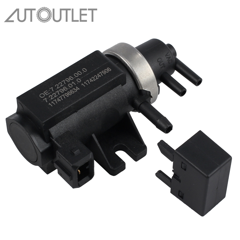 AUTOUTLET Turbo Pressure Boost Control Solenoid EGR Valve For BMW 1 3 5 6 7 Series X3 X5 X6 11747796634 11742247906