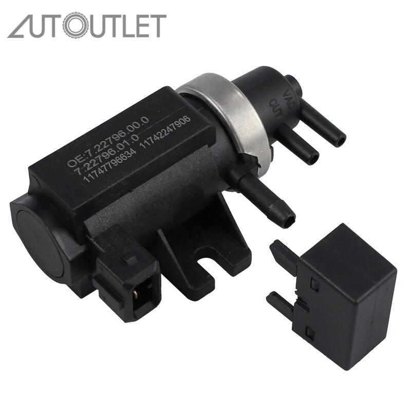 AUTOUTLET Turbo ciśnienia doładowania elektromagnes sterujący zawór egr dla BMW 1 3 5 6 7 serii X3 X5 X6 11747796634 11742247906