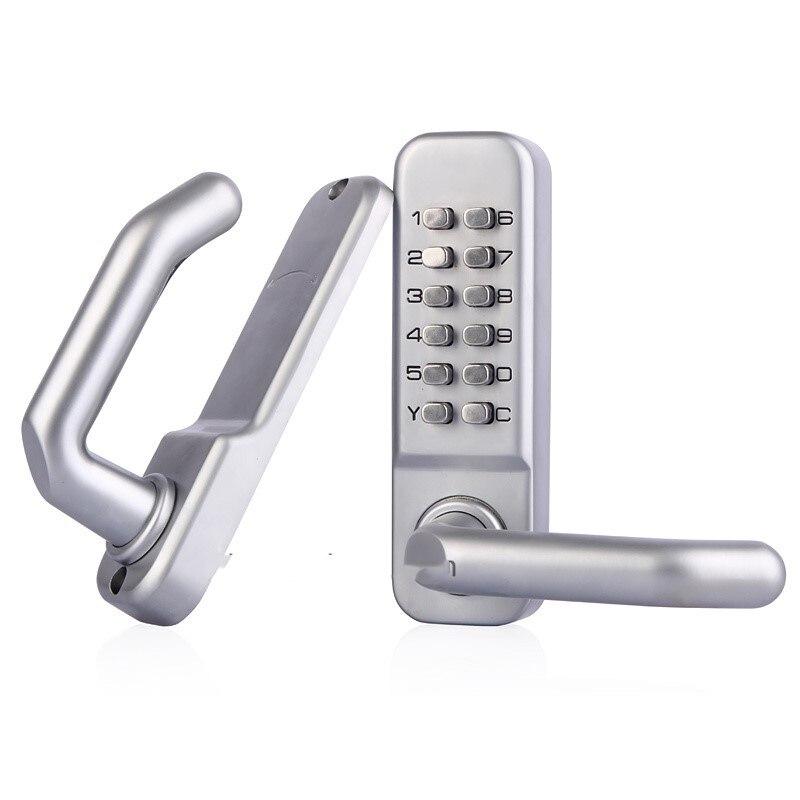 Mechanical Door Locks Keyless Digital Machinery Code Keypad Password Entry Door Lock Zinc Alloy