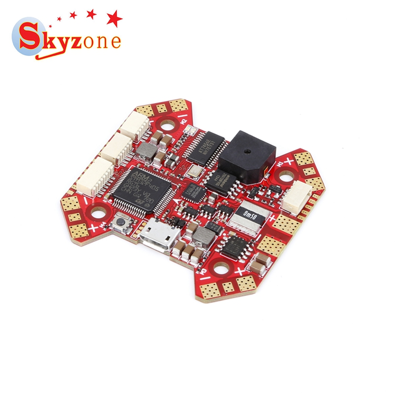 Skyzone F4 Flight Controller STM32 F405 Integrated OSD Built-in 5V BEC Current Meter For RC Racer Racing Model Drone Quad DIY цена и фото