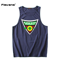 Flevans Mens Tank Top New Design Moive Green Arrow Tanks Fashion Summer Sleeveless Shirt Vest