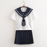 Japanese Sailor Uniform for Female Students Class Uniform JK Sets School Uniform