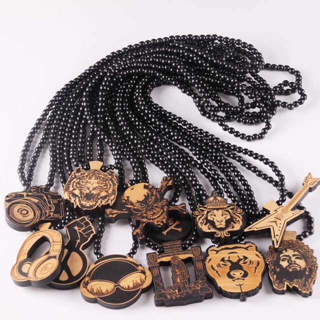 beat wood letter a jewelry wooden arrive newest gift necklaces goodwood necklace fashion beads hiphop net good pendant toctai