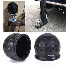 1 шт. стиль универсальный 50 мм фаркоп шаровая крышка буксировочная сцепка караван черный прицеп фаркоп Защитная крышка