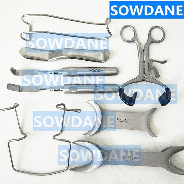 1 piezas dentista herramienta Dental Minnesota labio y mejilla Retractor implante quirúrgico boca abridor INSTRUMENTO DE ACERO INOXIDABLE