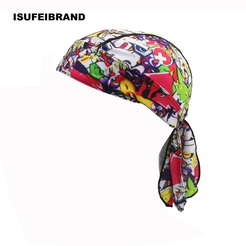 Outdoor Cycling Headwrap Sport Head Wrap Bicycle Bandana Cap Pirate Hat Gift USA