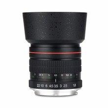 Lightdow 85 мм F1.8-F22 для Canon EOS 550D 600D 700D 5D 6D 7D 60D DSLR