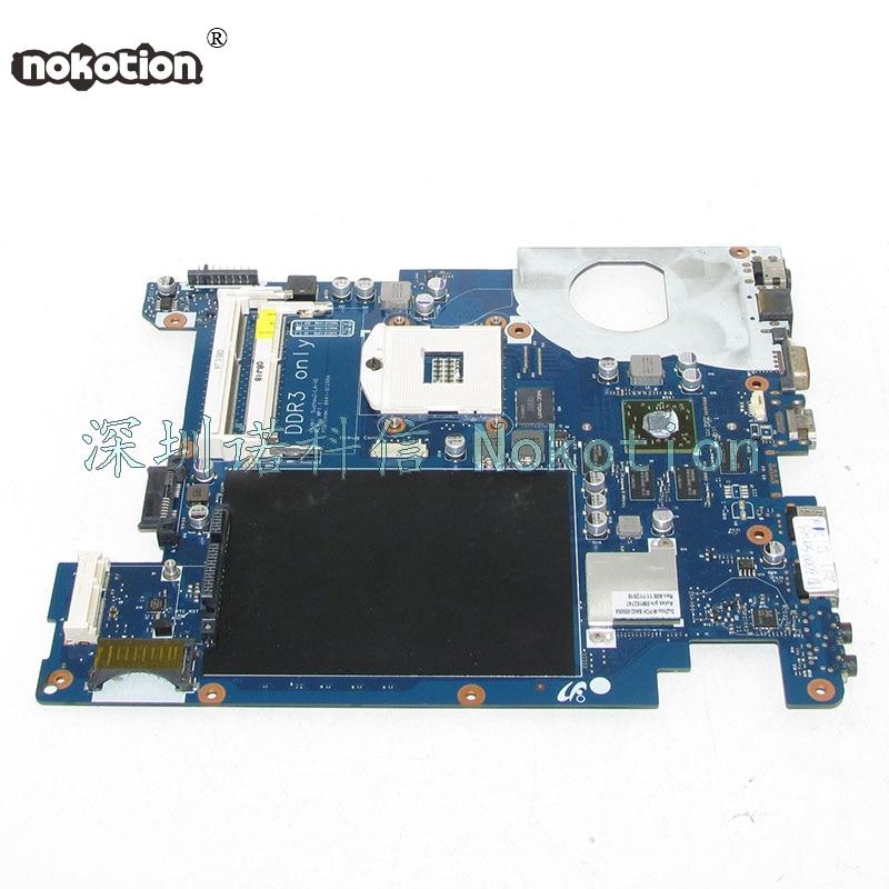 NOKOTION BA92-06675A BA92-06675B BA41-01299A For samsung NP-R440 R440 Laptop motherboard HM55 HD5000 series DDR3 Mainboard nokotion laptop motherboard for samsung r525 np r525 mainboard ba92 06013b ba92 06013a free cpu