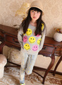 2016 Autumn Baby  hoodies cotton long sleeve children clothing kids pullovers lovely for  girls warm clothes HW1511