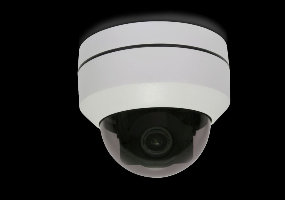 H.265 5MP 4x optical zoom POE power supply IP speed dome cctv cameras ceiling /wall installation IP67 IR dome camera