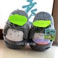 Anime Cartoon Totoro Gato Bus Fairydust Zapatos de Casa de Invierno Zapatillas de Felpa para Los Niños Hombres Mujeres Niños Niños Zapatillas cosplay