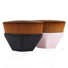 цены 2019 New Arrival Foundation Brush BB Cream Makeup Brushes Loose Powder Brush Flat Kit Pincel Maquiagem Make up Brushes