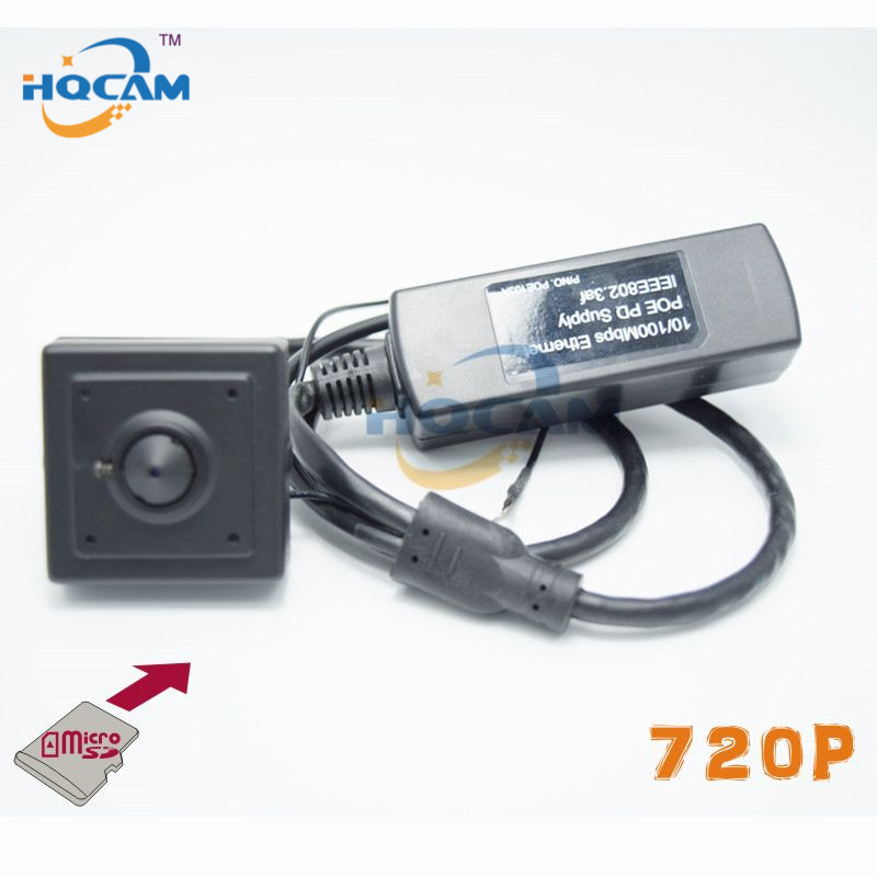 720P Micro TF SD Camera POE Mini IP Camera Home Security Camera IP Cam Indoor Security CCTV IP Kamera Support POE With SD Card ssk scrm 060 multi in one usb 2 0 card reader for sd ms micro sd tf white
