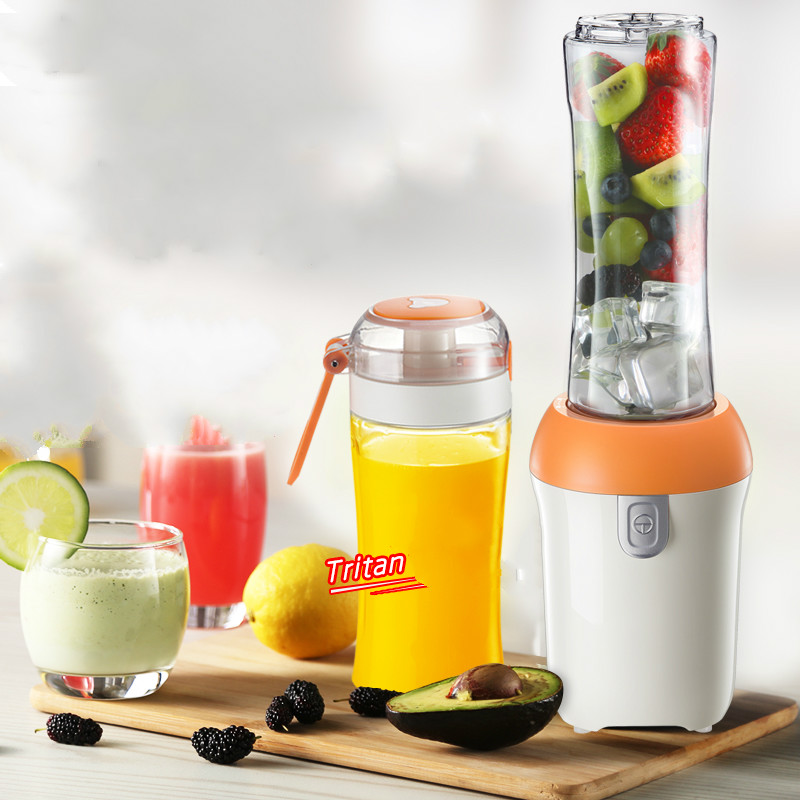 Juicers Juicer household automatic fruit and vegetable multi-function juice cup electric portable. jiqi household portable 2 cup juicers mini electric automatic juicing machine 300w power for juicing mixing stirring