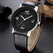 Top Luxury Fashion Brand Quartz Watch Women Ladies Men Casual Leather Dress Bracelet Wrist Watch Wristwatch Clock Hour 201612234
