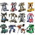Transformação Optimus Prime Bumblebee Megatron Ironhide Starscream Deformação Robô de Brinquedo Figuras de Ação Brinquedos Sem Caixa Original