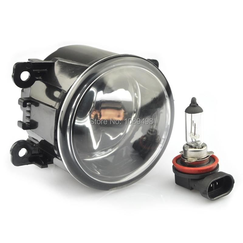 2 τεμάχια / ζεύγος Μπροστινός προφυλακτήρας φώτα ομίχλης φώτα κατάλληλα για Ford Focus 2007-2014 / Fiesta / Peugeot / Chevrolet / Swift / Autoart / Renault