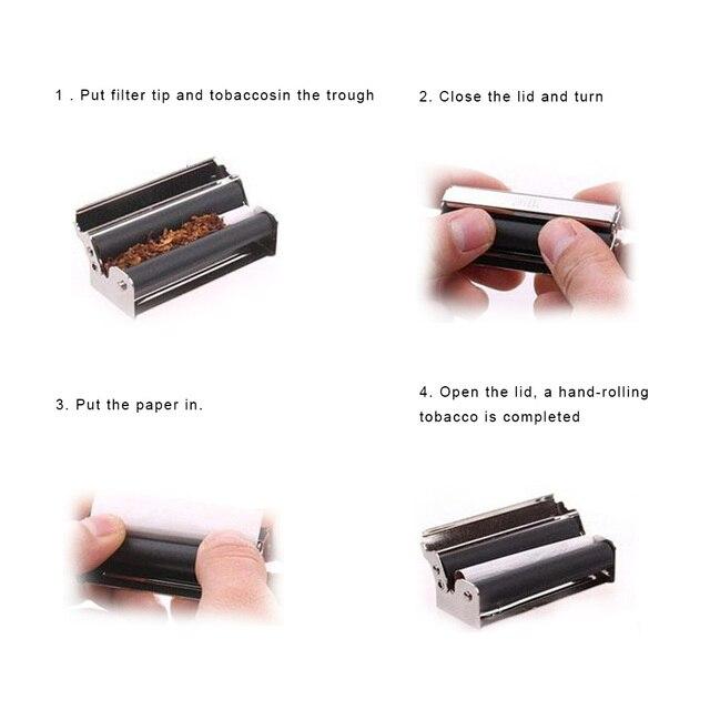 Cigarrillo portátil NICEYARD, máquina enrolladora de tabaco, accesorios para fumar