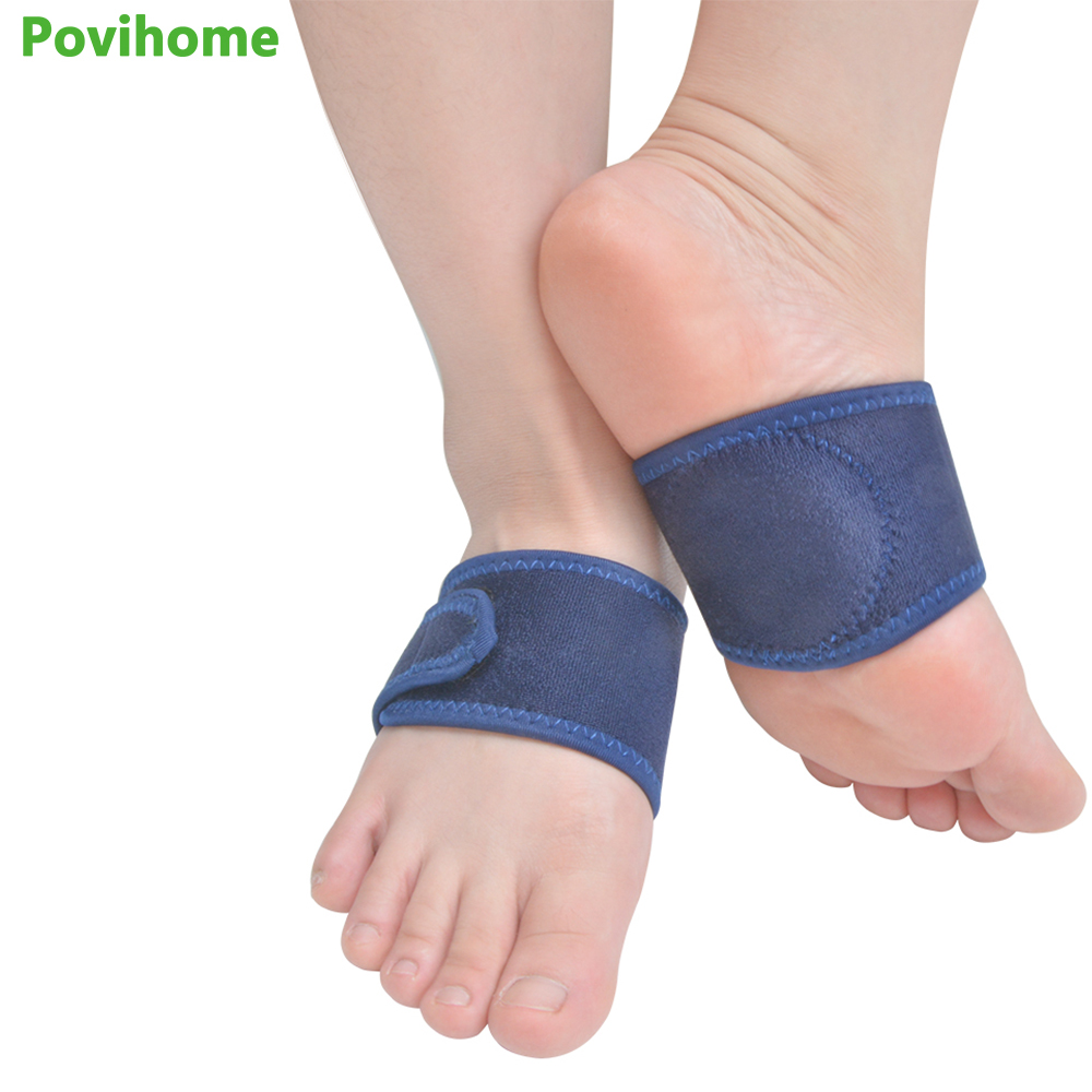 2 Pcs Flat Feet Orthotic Plantar Fasciitis Arch Support Gel Cushions Pad Heel Wrap Foot Care Insoles Flat Foot Correction Z57501 foot drop orthoses plantar fasciitis ankle achilles tendinitis supporting feet correction