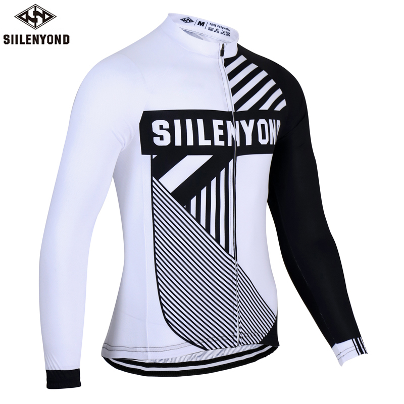 ФОТО Siilenyond 2017  Long Sleeve  Cycling Jersey Winter Bike Thermal Fleece Roupa De Ciclismo Invierno Hombre MTB Bicycle Clothing
