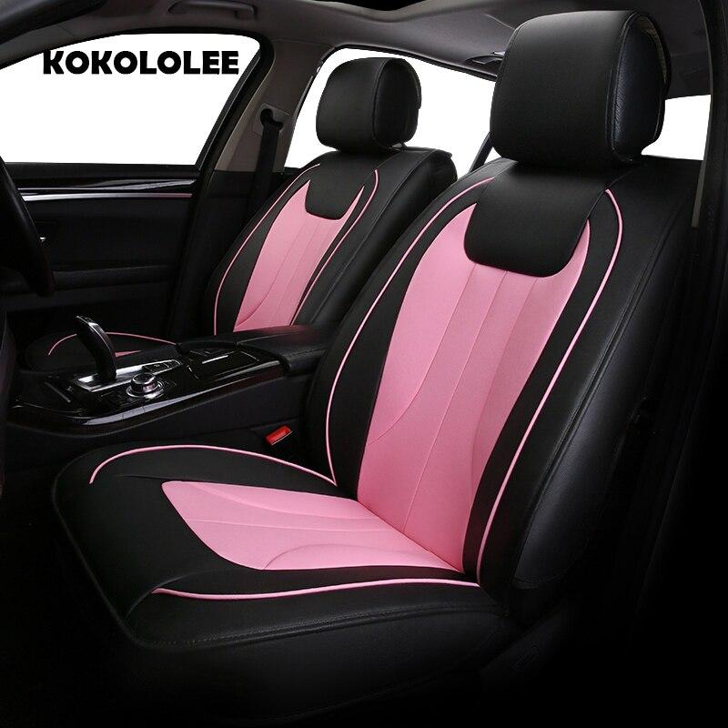 Siège auto en cuir synthétique polyuréthane KOKOLOLEE pour MG tous les modèles GT MG5 MG6 MG7 MG3 ZS mgtf accessoires auto