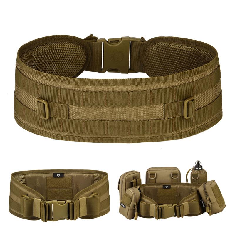 Protector Plus Z507 Tactical Waist Belt Outdoor Camouflage Girdle CS Belt Multi-purpose Equipment Field Girdle Military Belt
