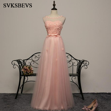 ings Sleeveless Bowknot Sash Prom Gowns